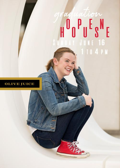 Senior photography announcement | Olive Juice Studios -