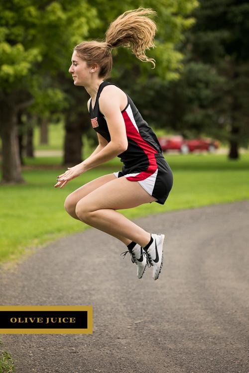 Senior sports photographer | Olive Juice Studios -