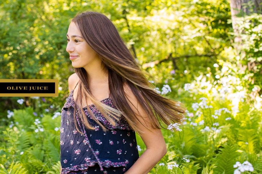 Senior girl photographer Rochester MN | Olive Juice Studios -
