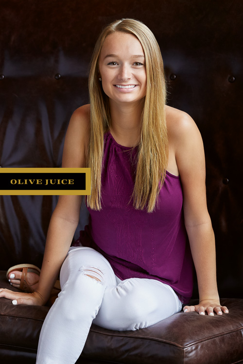 Senior photographer announcement | Olive Juice Studios -